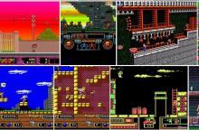 Старые Dos игры онлайн