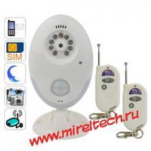 Видеонаблюдение и охрана объекта с помощью GSM модуля