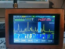 Замена кварцевого генератора 22МГц на малахит - DSP, другие доработки