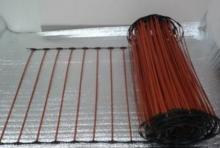 Инфракрасный сетчатый теплый пол. Почему выгодно использовать инфракрасные теплые полы? Инфракрасный теплый пол под плитку