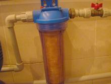 Фильтр грубой очистки воды прямой. Как правильно установить фильтр грубой очистки перед счетчиком. Где установлен фильтр и зачем он нужен