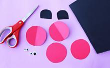 Поделки из цветной бумаги 5 лет. Делаем забавные аппликации из бумаги со своими малышами. Видео: воспитателям и родителям — аппликации для детей