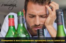 очищение организма от алкоголя