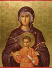 Божья матерь с младенцем. Значение деталей одежды на иконах. Икона «Взыграние младенца». Значение в христианском мире