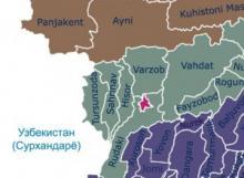 Турсунзаде и Ширкентское ущелье. По следу динозавра. Карта Турсунзаде со спутника — улицы и дома онлайн Население турсунзаде