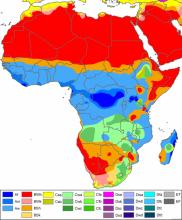 Презентация на тему пояса африки. Личностно-ориентированный урок-презентация микроклимат африки. П. Постижение нового материала