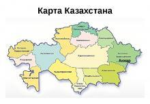 областные центры казахстана