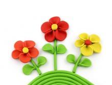 Лепка цветы цель. Цветы, как тема для занятий по лепке у детей. Тема: «Сказочный цветок»