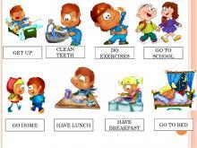 Распорядок дня на английском языке. Как составить рассказ «Мой распорядок дня» на английском языке? Расписание на английском языке 5