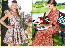 Модные цветочные принты